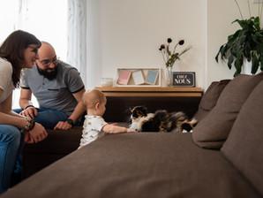 Choisir une séance famille à la maison, c'est …