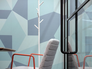 PwC Manchester wallcoverings