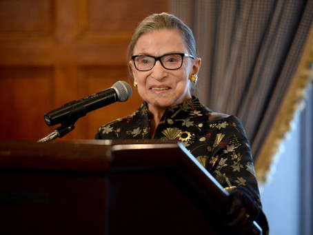 Ruth Bader Ginsburg - Her Legacy Lives in All of Us