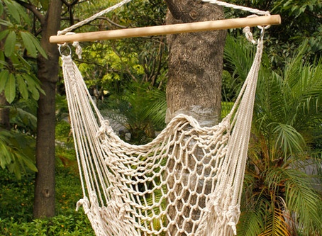 Ktaxon Outdoor Hanging Swing Cotton Hammock Chair Solid Rope with Wooden Bar
