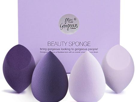 Miss Gorgeous Beauty Foundation Blending Sponge for Liquid, Cream, and Powder (4Pcs)