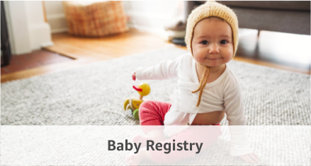 Baby and Wedding Registries