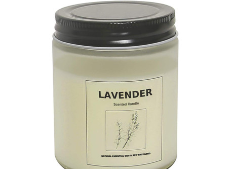 Highly Scented and Long Burning Aromatherapy Jar Candles for Stress Relief and Relaxation