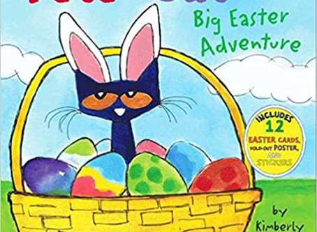 Pete the Cat: Big Easter Adventure Hardcover