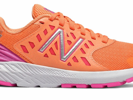 New Balance Kid's FuelCore Urge Big Kids Girls Shoes Orange with Pink