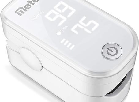 Pulse Oximeter Fingertip, Blood Oxygen Saturation Monitor