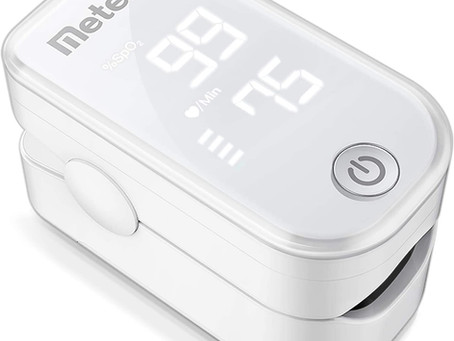 Pulse Oximeter Fingertip, Blood Oxygen Saturation Monitor
