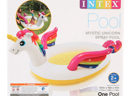 Intex Mystic Unicorn Spray Pool