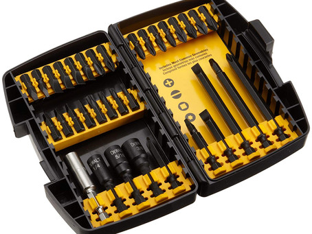 DEWALT Impact Driver Bit Set, Drilling/Driving, 34-Piece