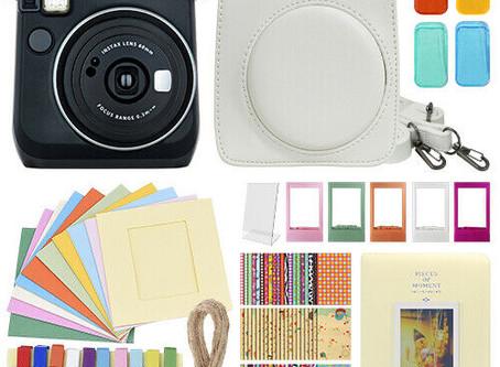 Fujifilm Instax Mini 70 Fuji Instant Film Camera All + Deluxe Accessory Bundle