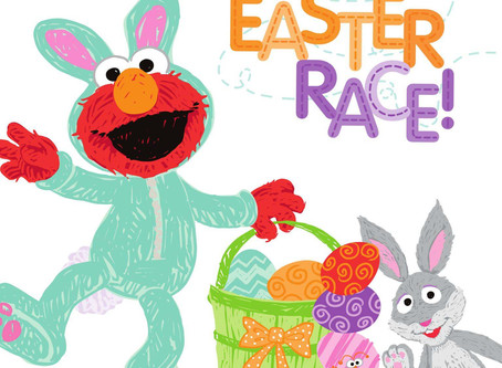 The Great Easter Race! (Sesame Street Scribbles) Kindle Edition