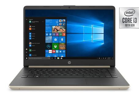 """HP 14"""" Laptop, Intel Core i3-1005G1, 4GB SDRAM, 128GB SSD"""