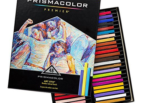 Prismacolor 2165 Premier Art Stix Woodless Colored Pencils, 48-Count