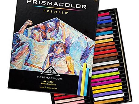 Prismacolor 2165 Premier Art Stix Woodless Colored Pencils, 48-Count