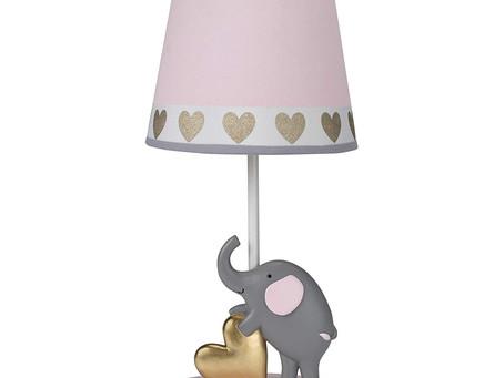 Bedtime Originals Eloise Nursery Lamp & Shade