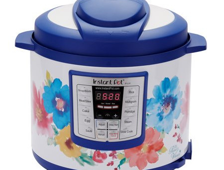 The Pioneer Woman Instant Pot LUX60 Breezy Blossoms 6-Quart 6-in-1 Multi-Use Programmable