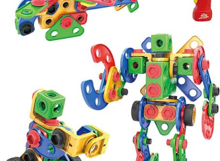 MEIGO STEM Learning Toys - Toddlers Educational Construction Engineering Building Blocks Set