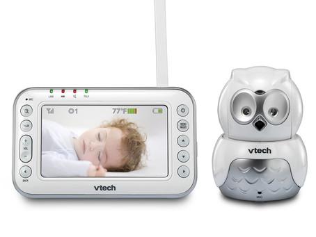 VTech VM344 Safe & Sound Expandable Digital Video Baby Monitor with Pan & Tilt Camera