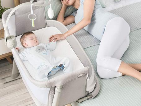 Baby Bassinet,RONBEI Bedside Sleeper Baby Bed Cribs