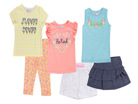 Freestyle Revolution Toddler Girls Mix & Match Outfits, 6-Piece Set (2T-4T)
