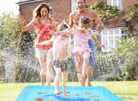 """Growsland Splash Pad - 67"""" Sprinkler for Kids"""