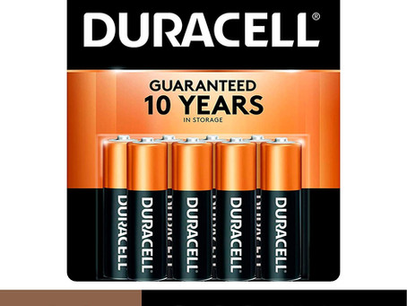 Duracell - CopperTop AA Alkaline Batteries - long lasting, all-purpose Double A battery - 8 Count