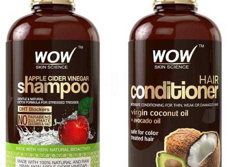 WOW Apple Cider Vinegar Shampoo & Hair Conditioner