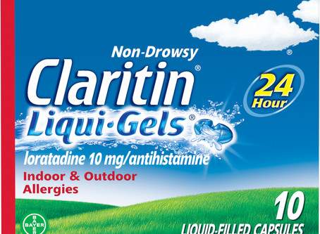 Claritin 24 Hour Non-Drowsy Allergy Relief Liqui-Gels, 10 mg, 10 Ct
