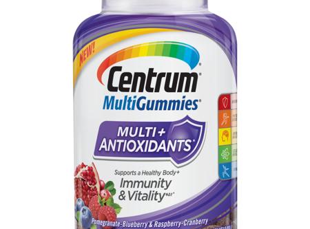 Centrum MultiGummies +Antioxidant, 90 ct. Fruit Flavored Multivitamin / Multimineral Supplement