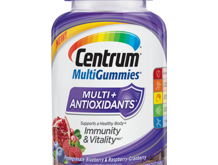 Centrum MultiGummies +Antioxidant, 90 ct. Fruit Flavored Multivitamin / Multimineral Supplement