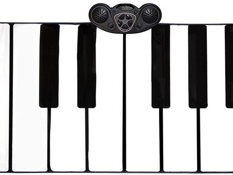 FAO Schwarz Musical Step 'N' Play Piano Dance Mat