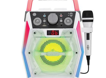 Singing Machine Glow, SML2200, Bluetooth CDG Karaoke Machine