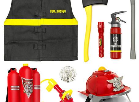 BCP Pretend Firefighter Playset