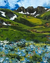 "Sarah Hathaway Fine Art, Painting, Meadow, Oil on Canvas, 16""x 20"", 2016, $150"