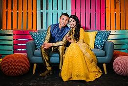 Pooja and Kendrick Wedding