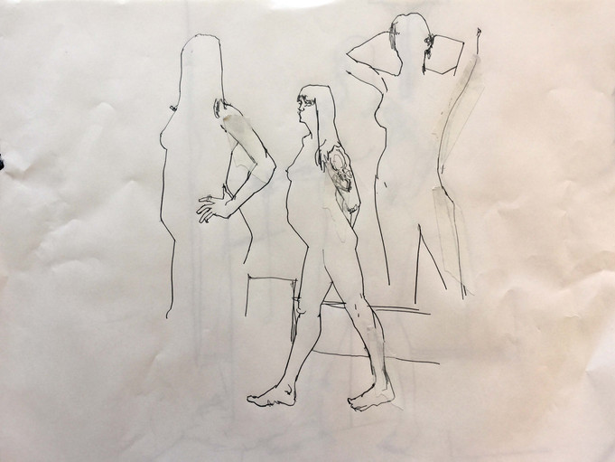 Life drawing, and some updates