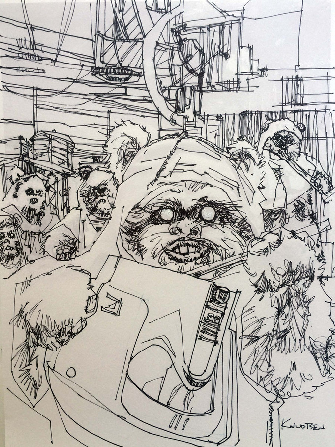 Creepy Ewoks and the best Thor not wearing a Mets hat