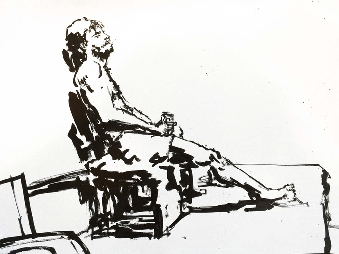 New life drawing time for Ken