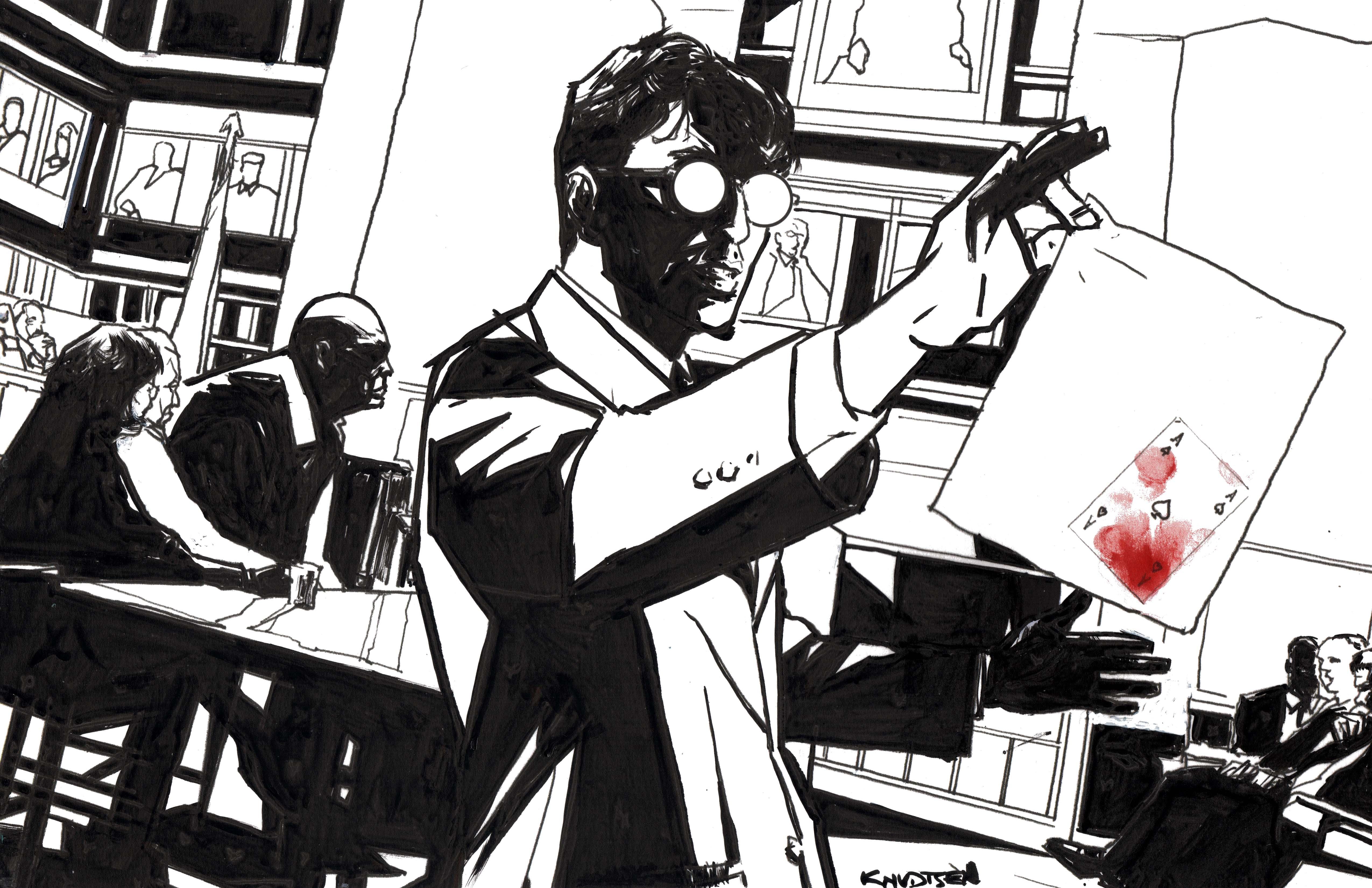 Matt Murdock(ssh it's Daredevil)