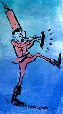 March to your own horn!