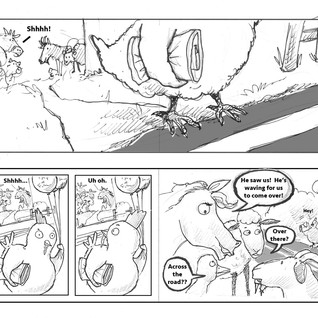 The Crossing Chicken pages 22 - 25