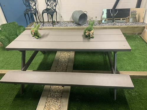 DEEP EMBOSSED COMPOSITE PICNIC BENCH