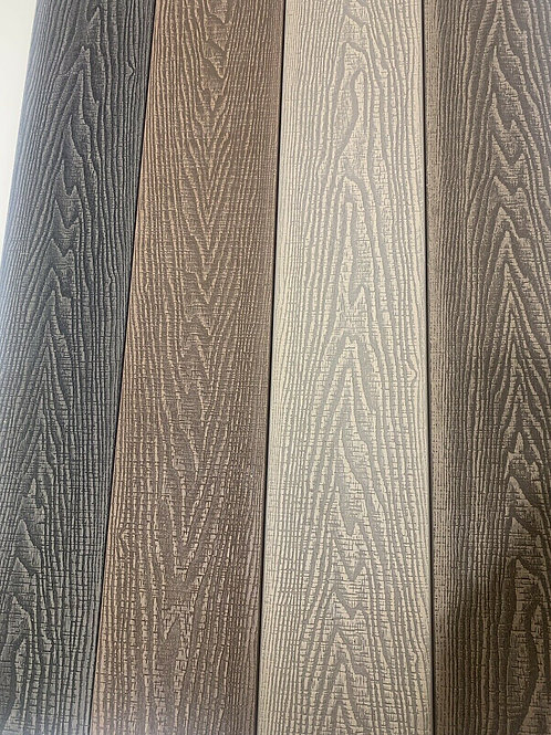 DEEP EMBOSSED COMPOSITE DECKING BOARDS - 3.6M X 146MM X 25MM