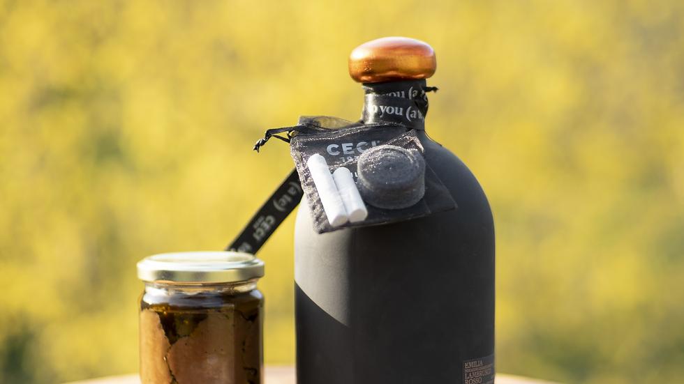 Carpaccio 120g + Lambrusco in bottiglia personalizzabile