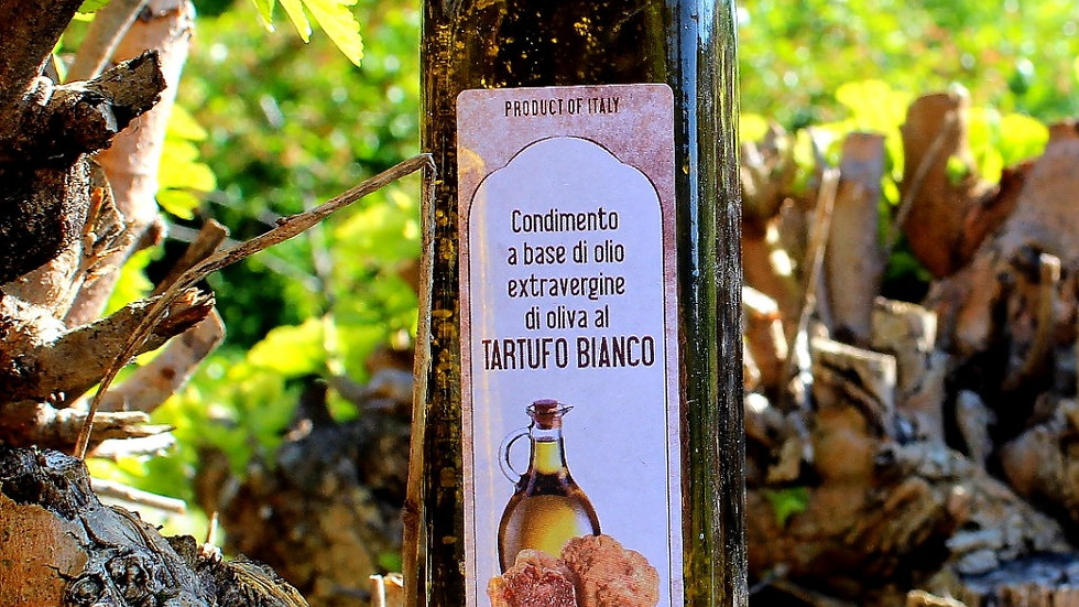 Olio al tartufo bianco 500 ml