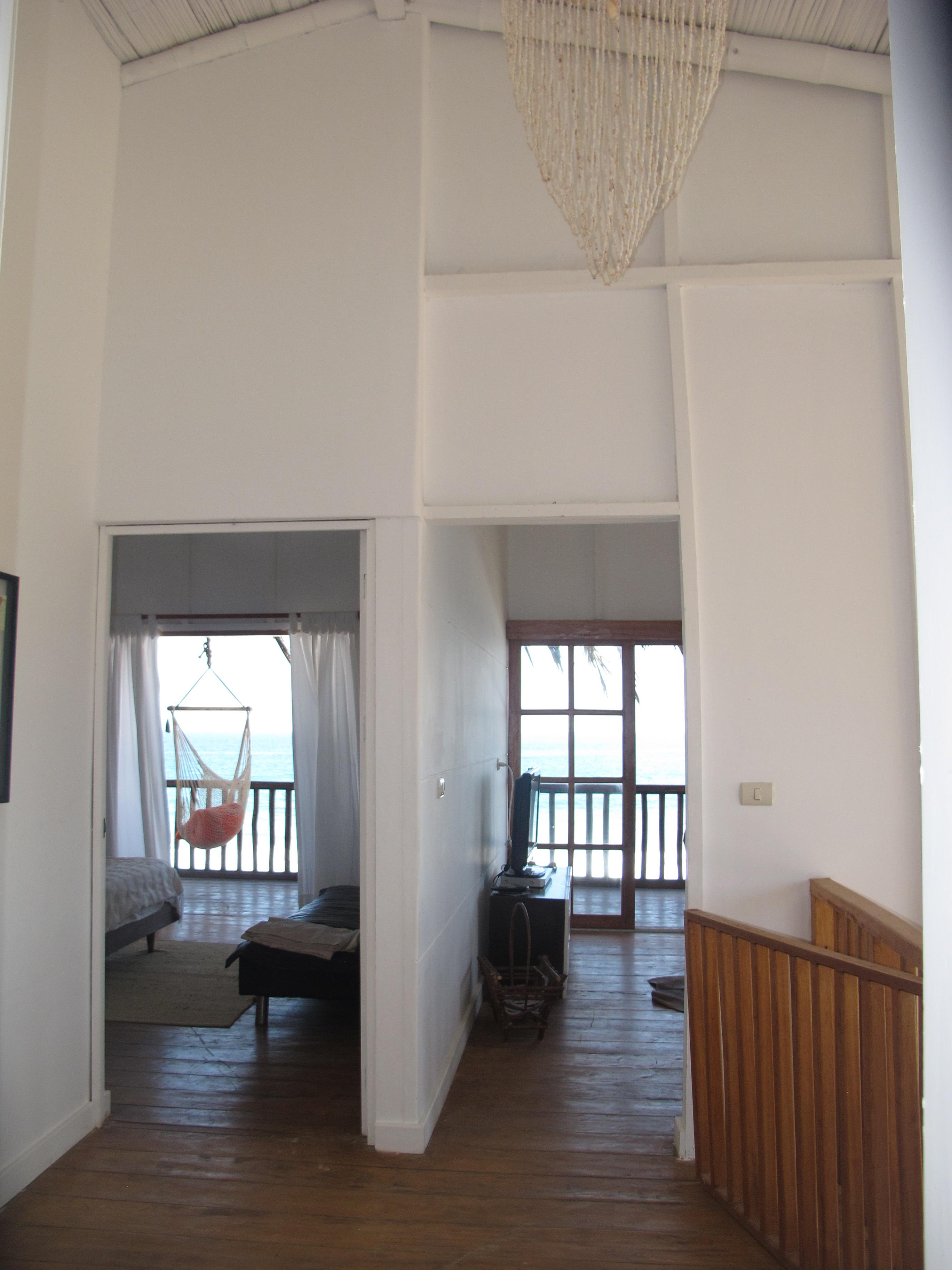 El hall del segundo piso