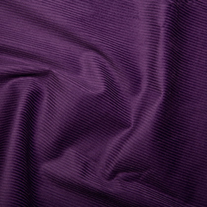 Purple cotton corduroy