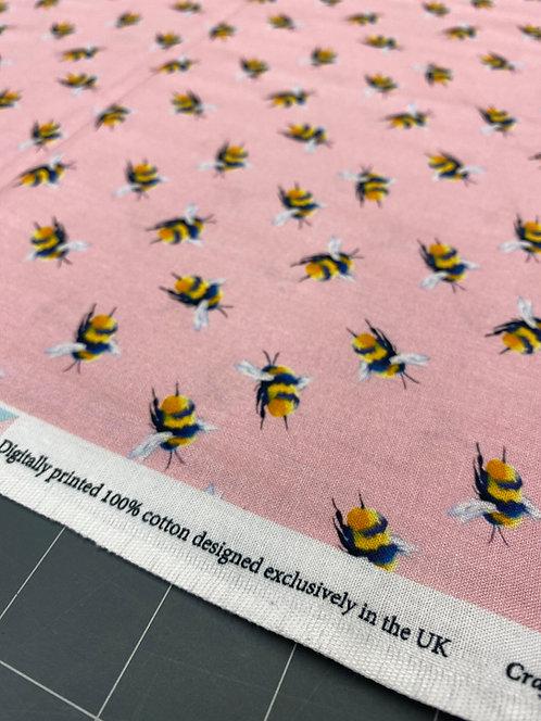 Light Pink Bee Poplin