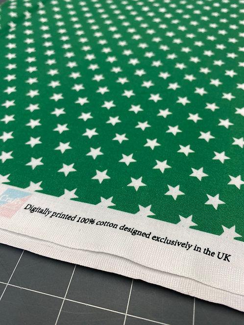 Green Star Poplin