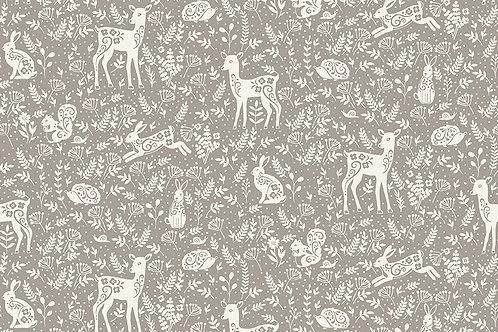 Animals on Grey